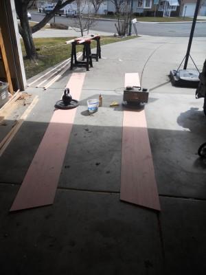 Edge Joining Plywood