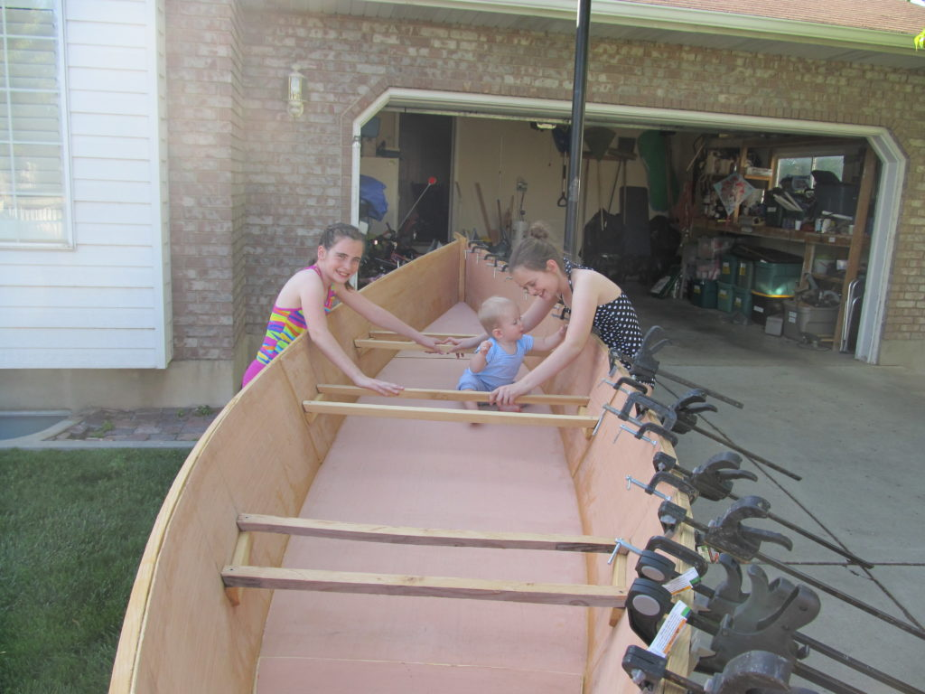 In the end the gunwale was installed and everyone was happy.